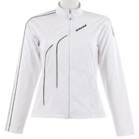 BABOLAT JACKET CLUB GIRL FW10 110 WHITE 42F1028