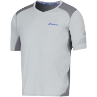 BABOLAT T-SHIRT V-NECK PERF M GREY 2MS16012