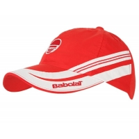 BABOLAT CAP JUNIOR RED/WHITE 4124