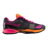 BABOLAT JET CLAY GREY ORANGE PINK 31S17685