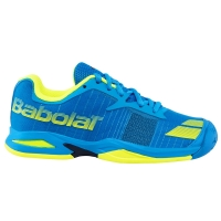 BABOLAT JET ALL COURT JR BLUE YELLOW 32S17648
