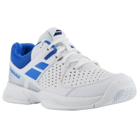 BABOLAT PULSION ALL COURT JR WHITE BLUE
