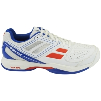 BABOLAT PULSION ALL COURT WHITE BLUE
