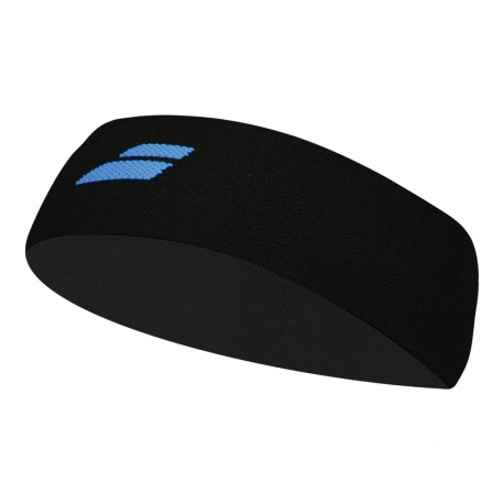 BABOLAT LOGO HEADBAND 5US18301 BLACK