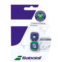 BABOLAT CUSTOM DAMP WIMBLEDON GREEN/PURPLE