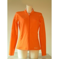 JACKET WOMEN PERF ORANGE/WHITE