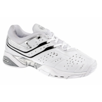 BABOLAT TEAM ALL COURT 4 TENNIS WHITE/SILVER/BLACK 30S993