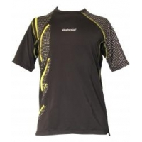 BABOLAT T-SHIRT PERF BLACK/LIME F70805