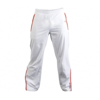 BABOLAT MEN PANT CLUB WHITE/RED S71601