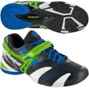 BABOLAT PROPULSE JUNIOR 3 GREY GREEN TENNIS 32S1273