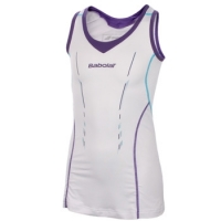 BABOLAT DRESS PERF GIRL 101 WHITE 42S1460